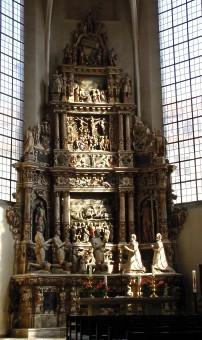 Grabdenkmal für die Eltern Herzog Johann Casimirs in der Morizkirche zu Coburg
