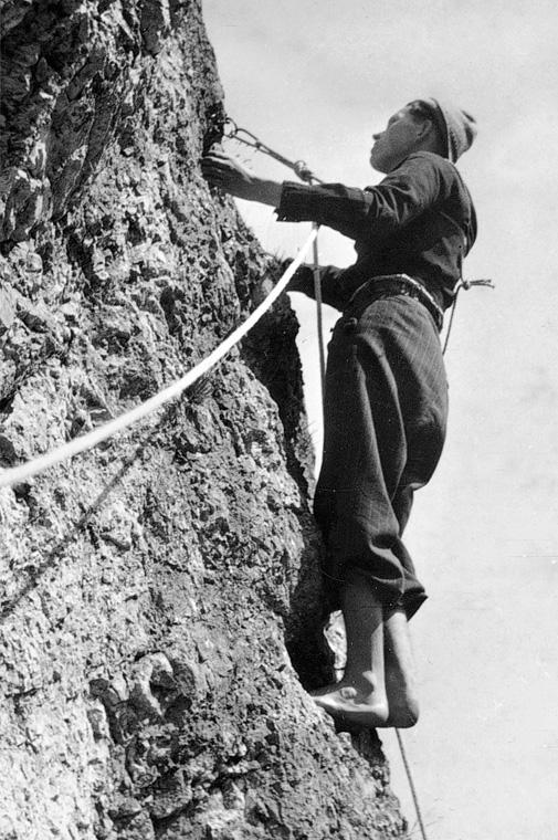 Klettersport im Wandel der Zeit: Erinnerungen von Horst Fischer