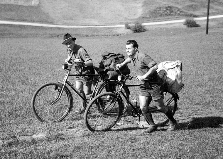 Erfindungsreich in die Alpen