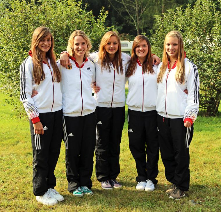 Die Weltmeisterinnen im Kanupolo