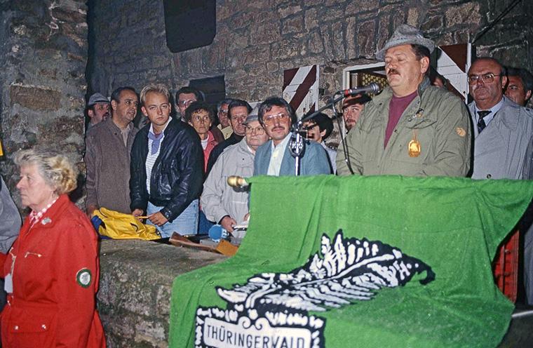 Die kleine Wiedervereinigung des großen Waldvereins