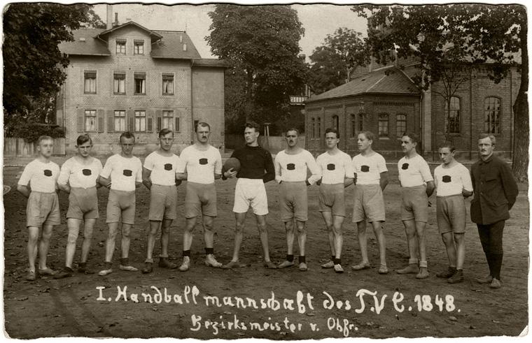 Der Coburger Handball im Wandel der Zeit