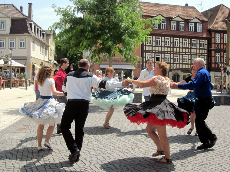 "Die ""Castle Twirlers"" – Coburgs Square-Dance-Club"