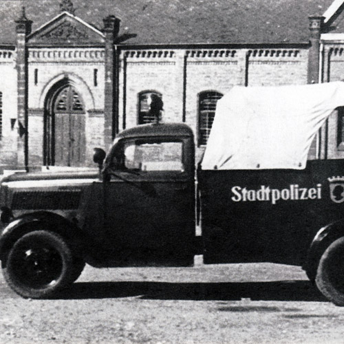 Coburg und seine Polizei – Erster Weltkrieg