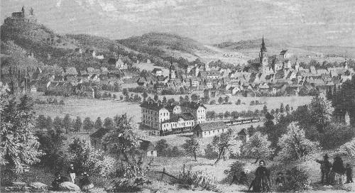 Die Eröffnung der Werrabahn vor 150 Jahren