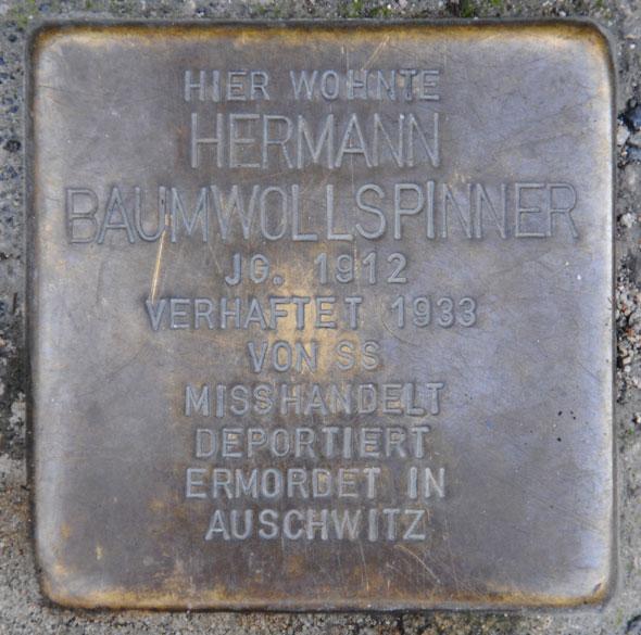 Wolf u.Hermann Baumwollspinner, geb. 1882 u. 1912