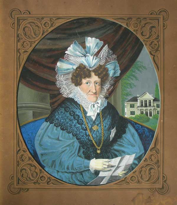 Bestand Stadtmuseum: Auguste Caroline Sophie, Herzogin von Sachsen-Coburg-Saalfeld