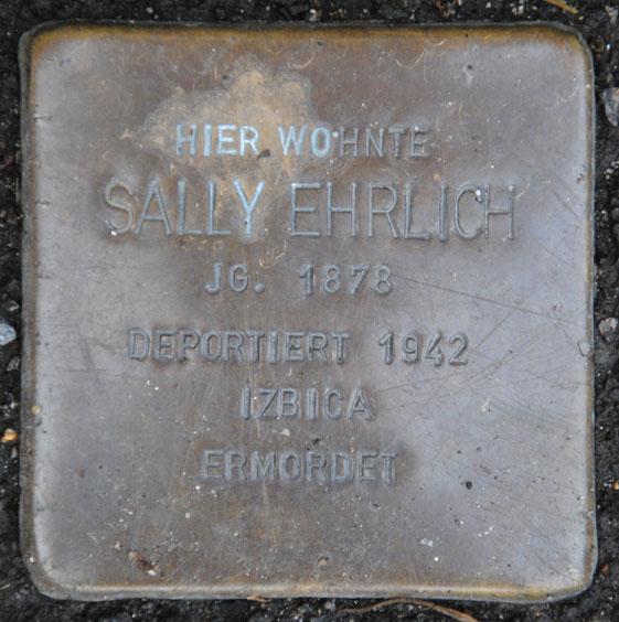 Sally Ehrlich geb. 1878 / Sally-Ehrlich-Straße 10