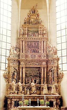 Das Grabmal (Epitaph) in der St. Moriz-Kirche (Teil I)