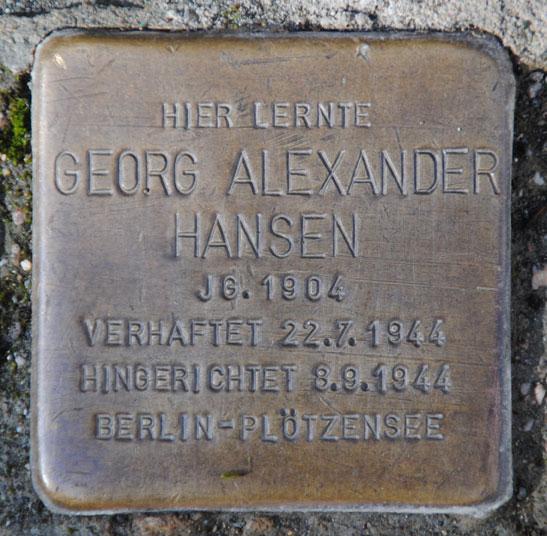 Georg Alexander Hansen (1904 – 1944)