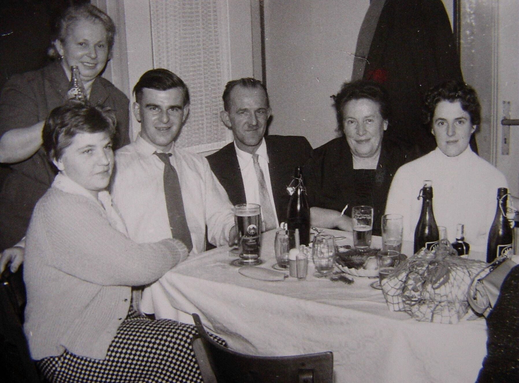 Der Heiligabend 1957