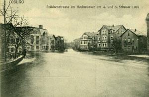 Hochwasser 1909 Teil II
