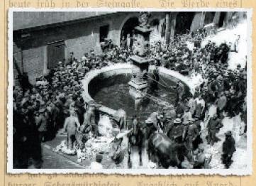 Coburger Zeitung vom 21. Juli 1911: Ein schwerer Unfall