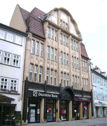 Coburgs erstes Kaufhaus