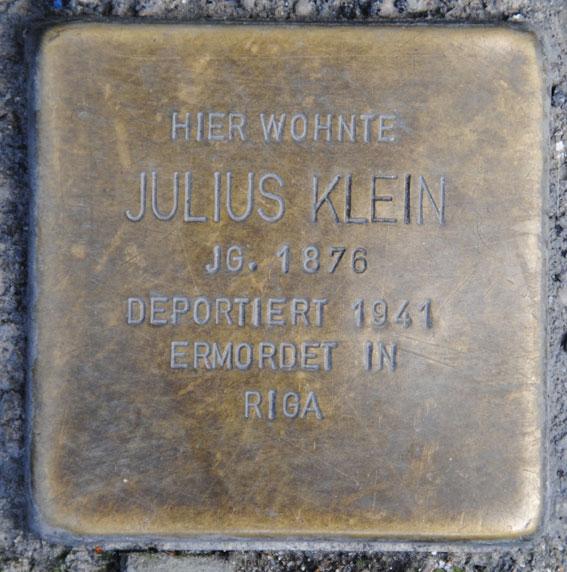 Klara und Julius Klein, geb. 1888 und 1876