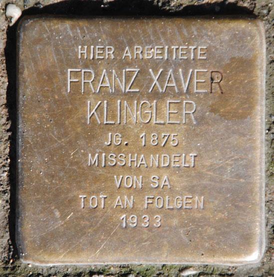 Franz Klingler, geb.1875