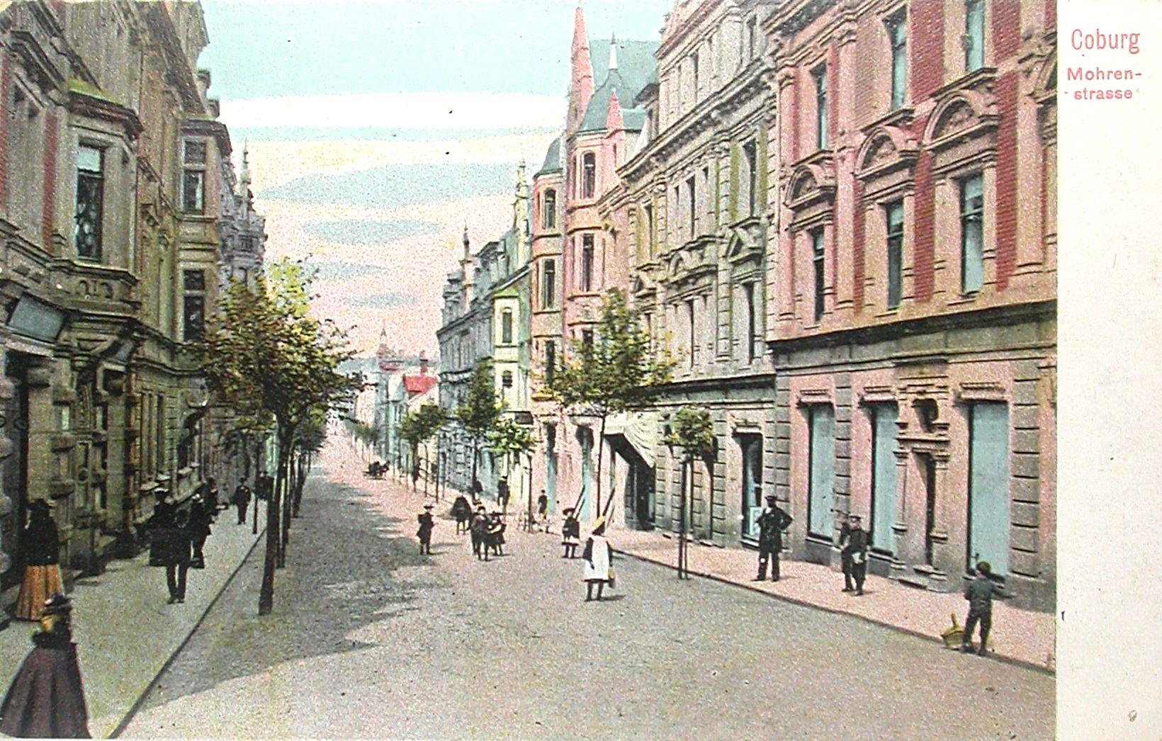 Geschichten aus der Mohrenstraße – Von der Wohn- zur Geschäftsstraße