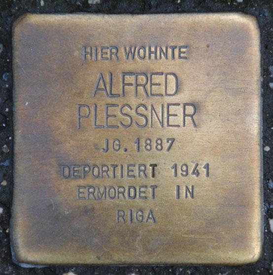 Margarethe und Alfred Plessner, geb. 1892 und 1887 / Mohrenstraße 9b