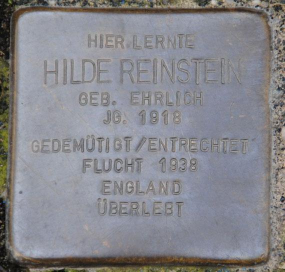 Hilde Reinstein, geb. 1918
