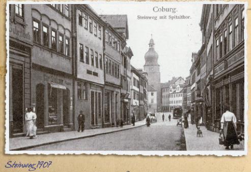 Straßennamen: Steinweg – 1398 erstmals im Stadtbuch erwähnt