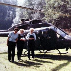 Mit dem Hubschrauber zur Kaffeetafel! Teil 1