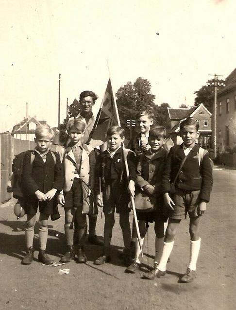 Ausflug der katholischen Jugend St. Augustin 1950