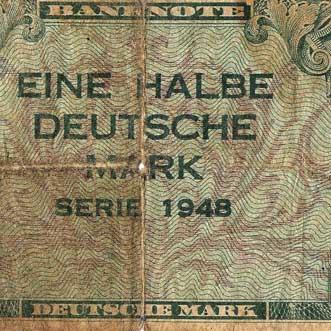 Das erste Westgeld