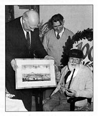 Johann Hartlieb – der einzige 100-Jährigen der Stadt