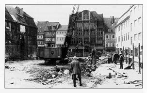 """Neubau des Kaufhauses """"Zum Mohren"""""""