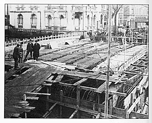 Neubau der Mohrenbrücke