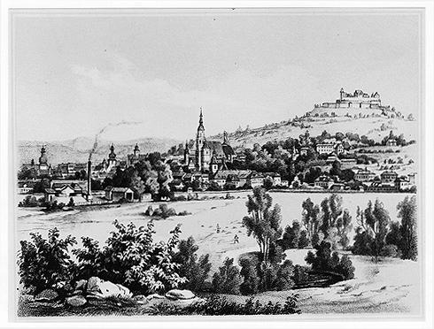 Ansicht von Coburg
