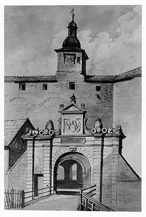Barockportal der Veste Coburg