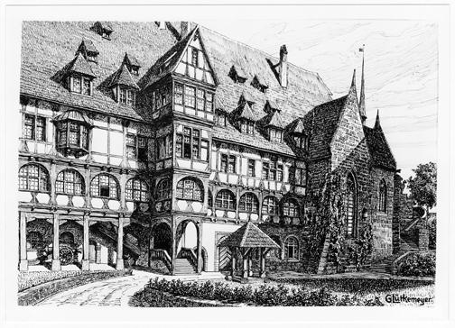 Fürstenbau und Lutherkapelle