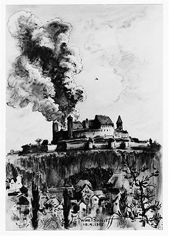 """""""Erste Bombe, die Veste brennt"""""""