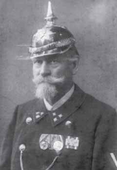 Portrait von G. Fahrenberger