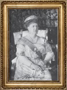 Portrait Herzogin Marie von Sachsen-Coburg und Gotha