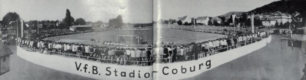 Foto vom VFB-Stadion Coburg