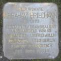 Stolperstein für Abraham Friedmann